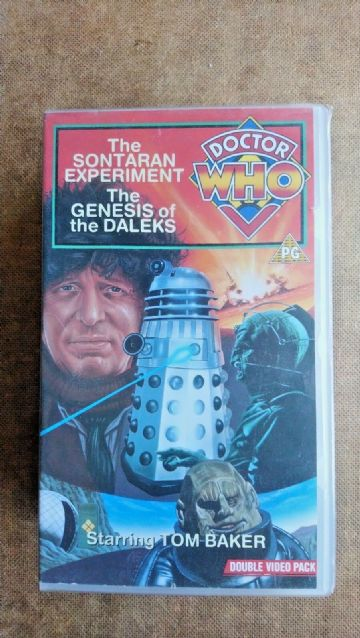 Doctor Who - The Sontaran Experiment / The Genesis Of The Daleks (VHS, 1991)